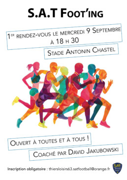 Affiche footing